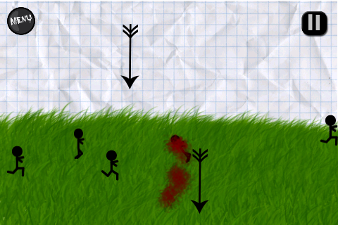 Screenshot I Kill Stick Figures